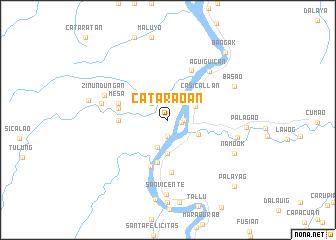 map of Cataraoan