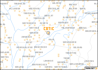 map of Catic
