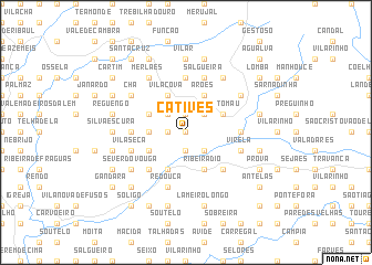 map of Catives