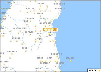 map of Catmon