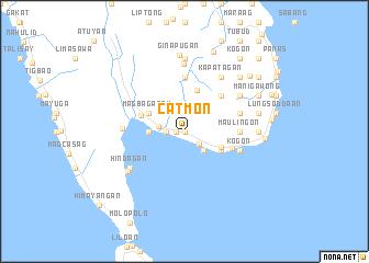 map of Catmon