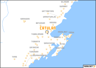 map of Catulan
