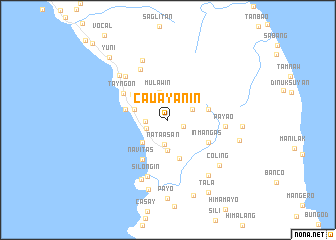 map of Cauayanin