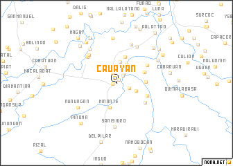 map of Cauayan