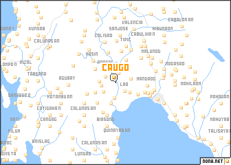 map of Caugo