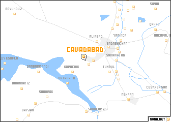 map of Cavadabad