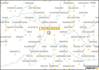 map of Cavadoude
