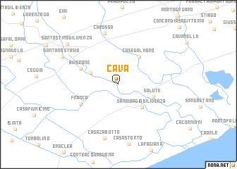 map of Cava