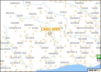 map of Cawilihan