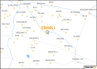 map of Caxırlı
