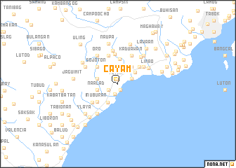 map of Cayam