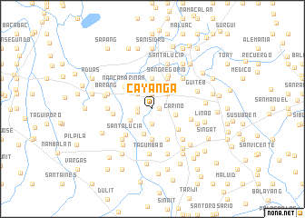 map of Cayañga