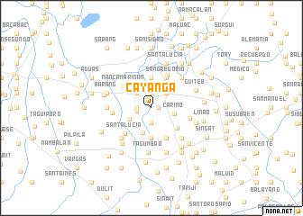 map of Cayañga