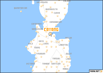 map of Cayang