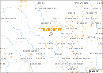 map of Cayo Rodeo