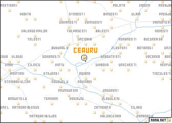 map of Ceauru
