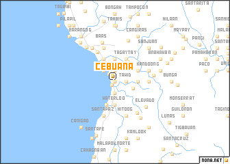 map of Cebuana