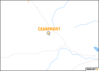 map of Cedar Point