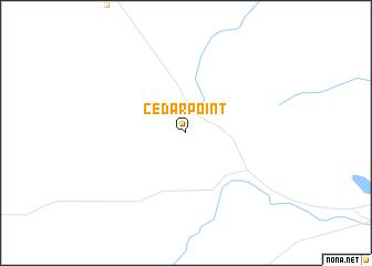map of Cedar Point