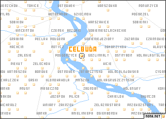 map of Celbuda