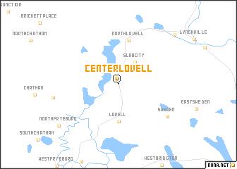 Lovell Maine Map.Center Lovell United States Usa Map Nona Net