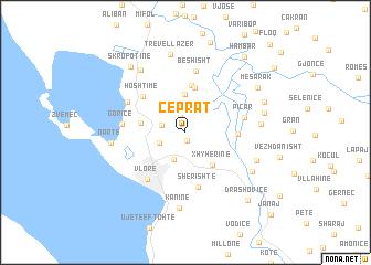 map of Çeprat