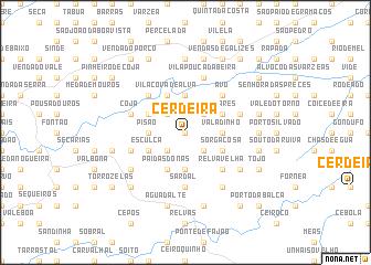 map of Cerdeira