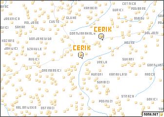 map of Cerik