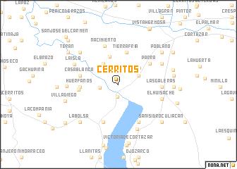 Cerritos (Mexico) map   nona.net
