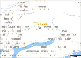 map of Certara