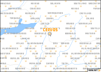 map of Cervos
