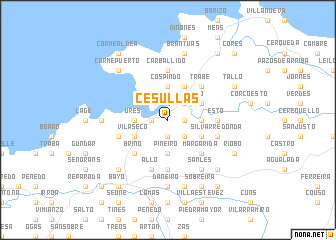 map of Cesullas