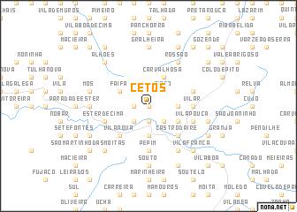 map of Cetos