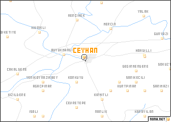 map of Ceyhan
