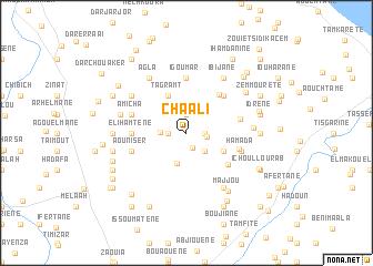 map of Cha Ali