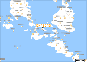 map of Chabong