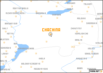 map of Chachina
