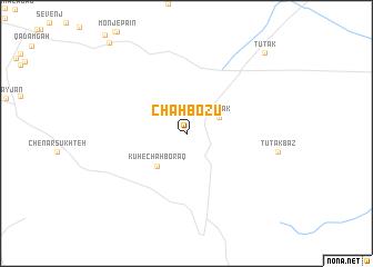 map of Chāh Bozū