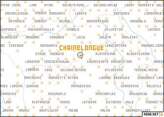 map of Chaîne Longue