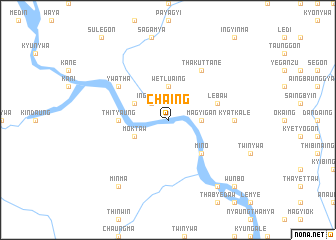 map of Chaing