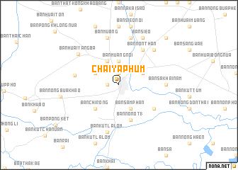 Chaiyaphum (Thailand) map   nona.net