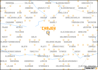map of Chajew