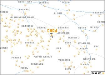 map of Chāj