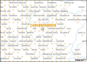 map of Chak Bānsbāria