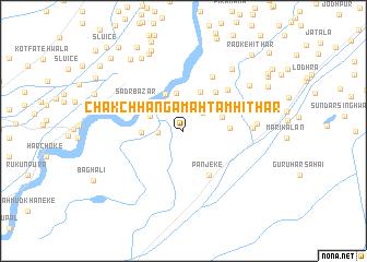 map of Chak Chhānga Mahtam Hithār