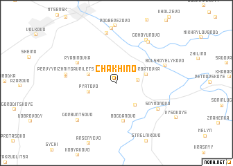 map of Chakhino