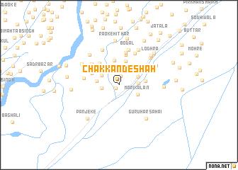 map of Chak Kande Shāh