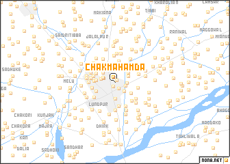 map of Chak Mahamda