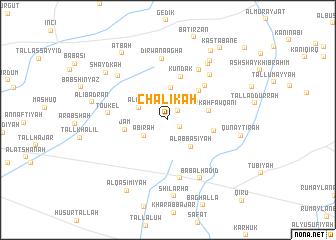 map of Chālīkah