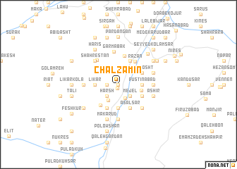 map of Chāl Zamīn